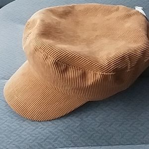 Ladies corduroy cabbie hat